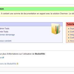 Le wiki d'Overmon est opérationnel !